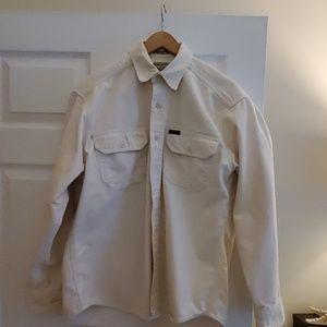 Woolrich chamois shirt
